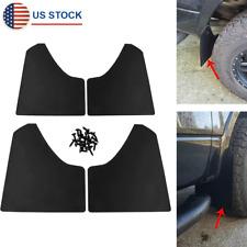 4x Car Truck Pickup Mud Flaps Splash Guards Front Rear Wheel Fender Mudguards Fits Toyota