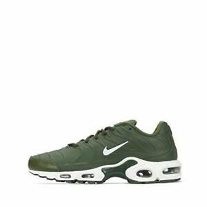 competitive price 82f55 b2387 Image is loading Mens-Nike-Air-Max-Plus-VT-Legion-Green-
