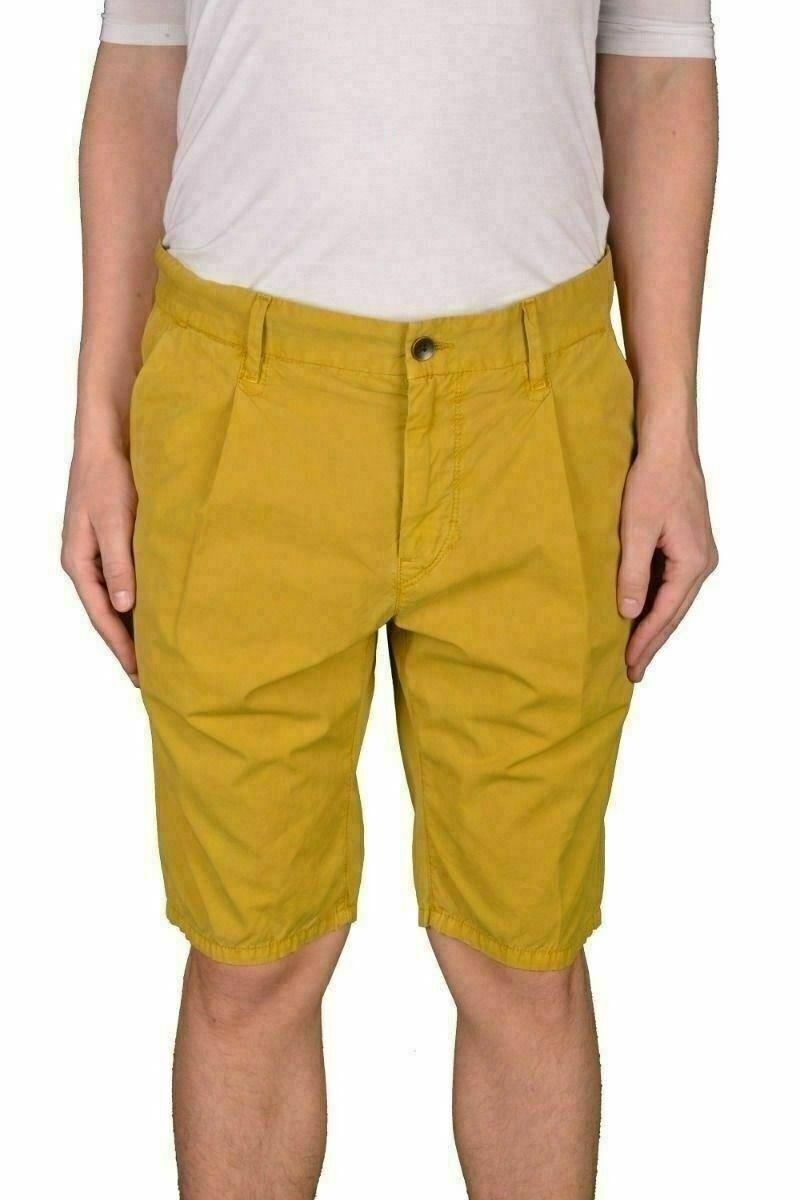 Hugo Boss Stimo1 Shorts D  Tapered Fit  Yellowish Green Shorts US 32R IT 48