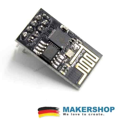5x esp01 esp8266 esp-01 del módulo en serie Wireless transciever WLAN WiFi Arduino
