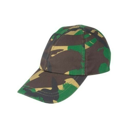 KAS Camouflage Camo Army Multi Terrain Fully Adjustable Onesize Caps Soldier Cap
