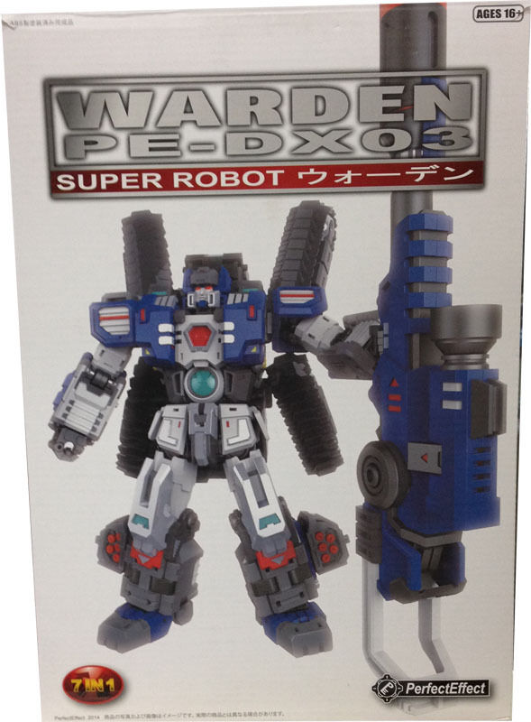 Transformers Perfect EffectPE-DX03 Warden Head for Encore Fortress Maximu MIB