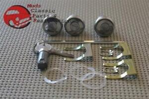 Chevelle-GTO-Special-Skylark-Glovebox-Trunk-Door-Locks-Pear-Head-Original-Keys