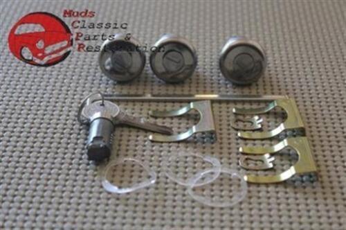 Chevelle GTO Special Skylark Glovebox Trunk Door Locks Pear Head Original Keys