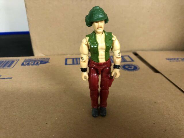 "Gi Joe WILDCARD V1 Series 7 Vintage 1988 Hasbro ARAH 3.75"" Near Complete!"