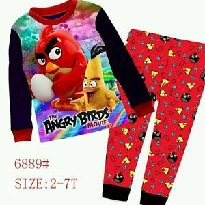 Angry-Birds-Red-Cuddleme-Long-Sleeves-Pyjamas-2T-7T
