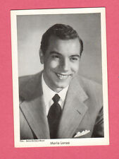 Mario Lanza Vintage 1950s Movie Film Gum Card from Germany