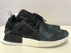 Mens Size 8.5 Adidas NMD XR1 Runner Sneakers New, Black Camo ...