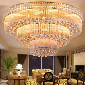 Details About European Court Style Led Crystal Ceiling Lamps Chandeliers Lighting Fixture 6101