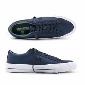 22aec820f6bda7 Converse Cons Star Player OX Navy White Low Top Sneaker 153708C