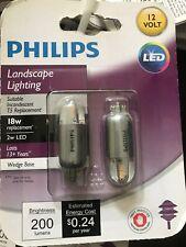 18W Piece Philips LED 463455 18 Watt Equivalent Soft White Wedge Capsule T5 12 Pack