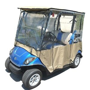 Exclusive Yamaha Drive Ydr 2 Seater Golf Cart Enclosure