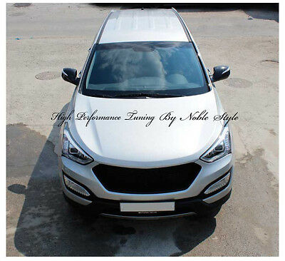 Noble Style Front Radiator Grill Grille For 2013~2015+ Hyundai Santa Fe DM Sport