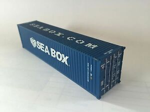 Sea Box Inc. HO Scale, 40' ISO Shipping Container