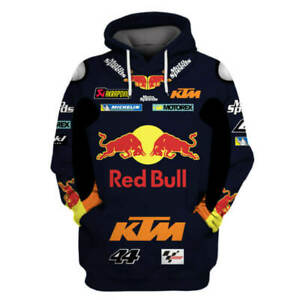 3d impression MotoGP Messieurs Hoodie KTM Racing moto Sweatshirt Capuche