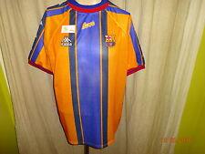"FC Barcelona Original Kappa Auswärts Trikot 1997/98 ""ohne Hauptsponsor"" Gr.L TOP"