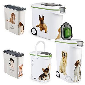 Curver-Hunde-Futtercontainer-Design-Futtertonne-Futter-Box-verschiedene-Groessen