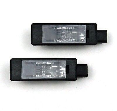 CITROEN C3 C-ELYSEE DS3 DS5 PEUGEOT 207 3008 301 Number Plate Lights Lamps PAIR