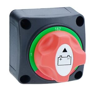 Marine-Battery-Isolator-Cut-Off-Changeover-Switch-100A-12-50VDC-4-Positions
