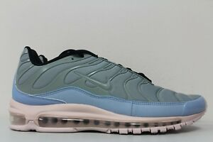 4c7fabf941 Nike Mens Air Max 97 / Plus Mica Green Barely Rose AH8144-300 Size ...