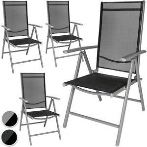 Sedie Da Giardino Alluminio.Alluminio Sedie Da Giardino Pieghevole Poltrona Campeggio Ebay