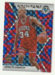 2019-20-Panini-Mosaic-Prizm-Blue-Reactive-HOF-Hall-of-Fame-Charles-Barkley-SP