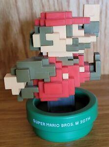 Super Mario Bros. 30th Anniversary - 8 Bit Mario w/ Classic Colors Amiibo - Used