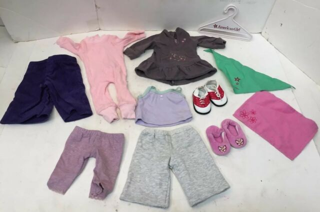 Huge Lot Authentic Tagged American Girl Doll Clothes Shoes 13 Pcs