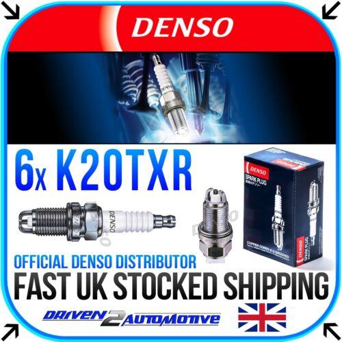 E46 5063 330 i 06.00-02.05 NICKEL SPARK PLUGS FOR BMW 3 6x DENSO K20TXR