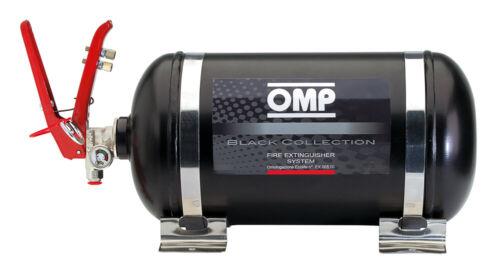CMSST1 OMP BLACK COLLECTION FIRE EXTINGUISHER COMPLETE SYSTEM 4.25L 8.1kgs 330mm
