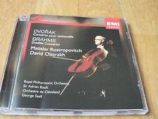 Rostropovich / Oistrakh - Dvorak : Cello Concerto - Brahms : Double Concerto -CD