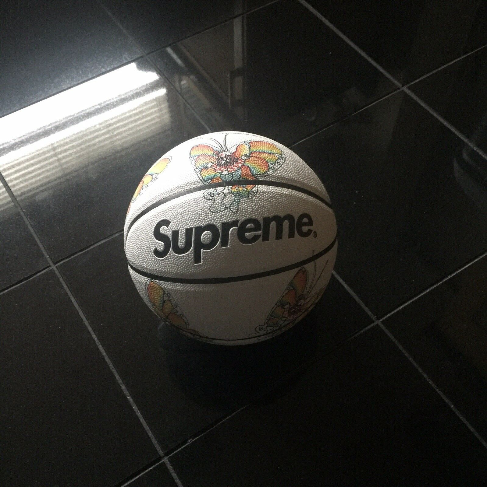 Supreme x Spalding  Gonz Butterfly Basketball  40% off