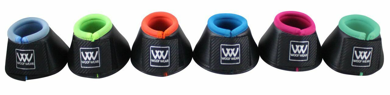WOOF WEAR PRO OVERREACH BOOTS NEW COLOUR FUSION RANGE - HORSE PONY EQUINE