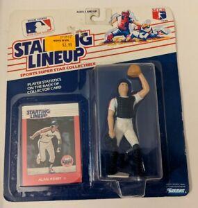 1988 Rookie Starting Lineup SLU MLB Alan Ashby Houston Astros Baseball Figure