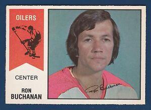RON BUCHANAN 74-75 WHA O-PEE-CHEE WHA 1974-75 NO 23 NRMINT+  22017