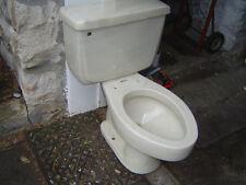 VINTAGE 1970's ONE FLUSH American Standard toilet 4049 ELONGATED bowl MARBLE