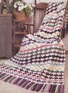 Crochet-Pattern-JIFFY-SCRAP-SHELLS-AFGHAN-Instructions