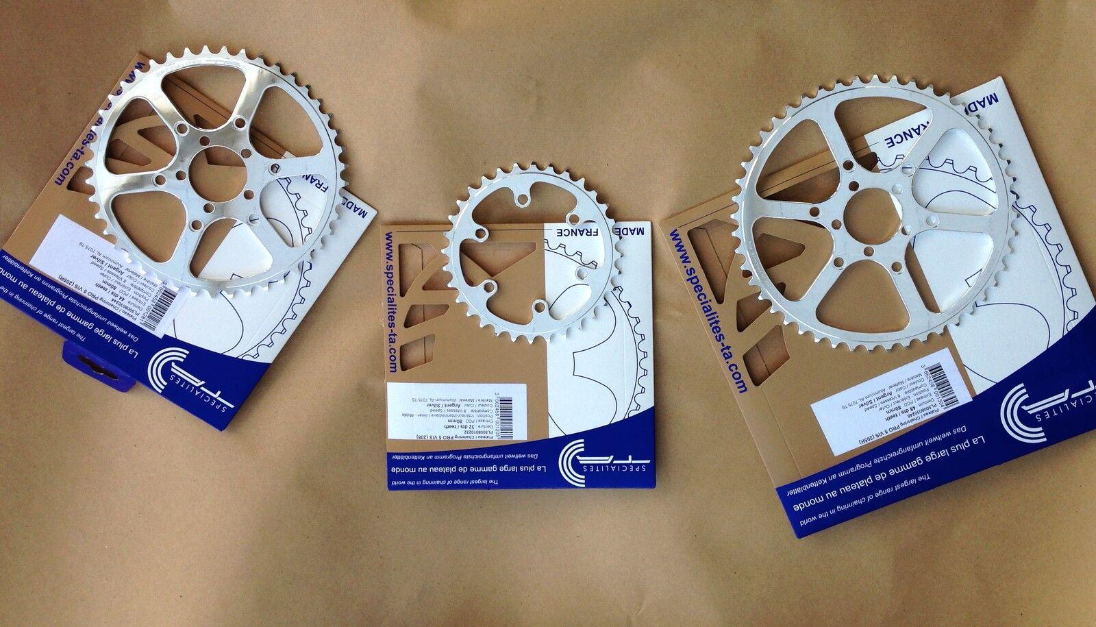 ¡Nuevo  T. a pro 5 Tornillo Cyclotouriste Cadena Aros  Todas las Dimensiones