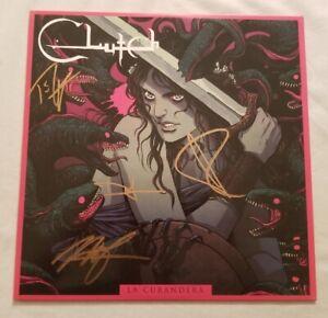 Clutch-Autographed-La-Curandera-Vinyl-LP