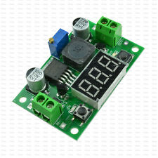 1Pc Step Down Converter LM2596 Module Voltage Regulator Module + Led Voltmeter