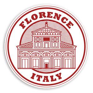 Travel Luggage Sticker #34310 2 x 10cm Rustic Riccione Italy Vinyl Stickers