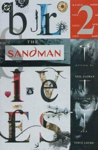2nd SERIES 1989 BRIEF LIVES SANDMAN #42 VF//NM DC VERTIGO