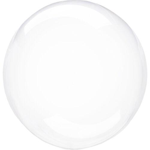 "CLEARZ 18/""-22/"" Sphere Globe Shape BALLOONS 6 Colours Stretchy Deco Bubble"