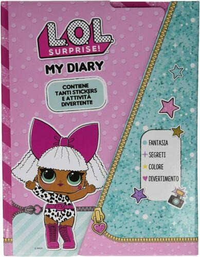 LoL Surprise My diary Tagebuch Deluxe Notizbuch mit Magnetverschluss