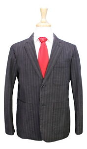 2btn gray Rayures Margaret Jeans Jean Brownish Japon 40s Coton Howell Suit qnx8PB