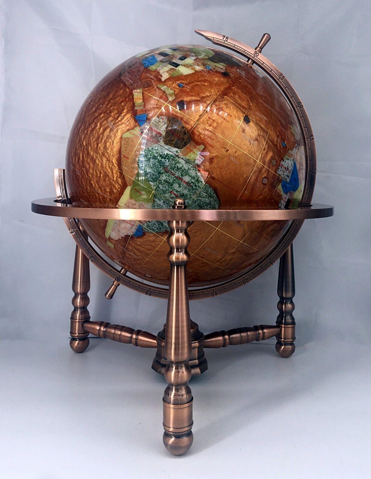 Limitierte Auflage 19-inch 19-inch 19-inch Hoch Bernstein Perle Ozean Tischplatte Edelstein   Zart     66cc6e