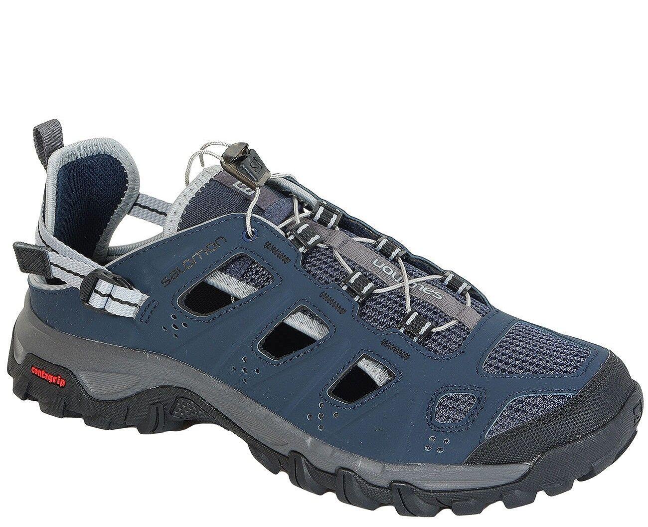 Salomon SALE sandals Evasion Cabrio Deep Blue/Dark Cloud