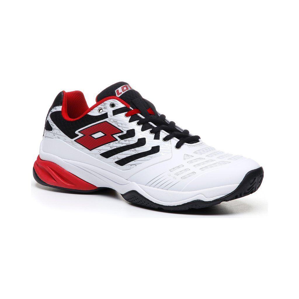 Lotto ultrasphere II En Todo Tenis Para Hombre Zapatilla (blancoo Rojo Zapatillas) --