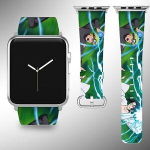 Naruto Apple Watch Band 38 40 42 44 Mm Fabric Leather Strap 3 Ebay