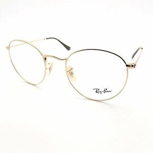 Ray Ban 3447 2500 Gold 50mm New Eyeglass Frame Authentic ... 6f62b8a48863